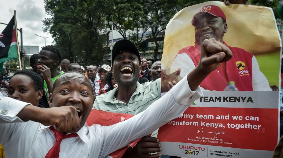 Kenya SC, Kenya President, Uhuru Kenyatta,