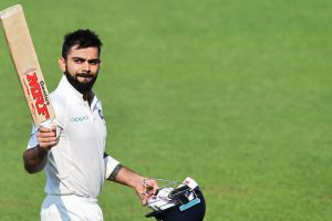 Virat Kohli moves up to 5th in ICC Test rankings