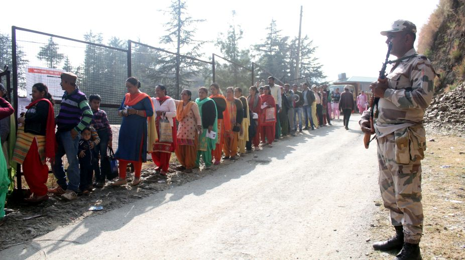 Voters, Himachal Pradesh, Assembly Elections