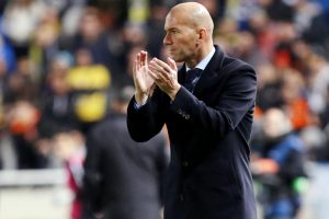 Things will be different against PSG, says Real Madrid's coach Zinedine Zidane