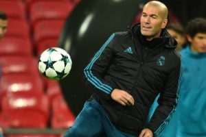 Zinedine Zidane rings changes to end bad week for Real Madrid