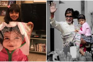 Happy Birthday Aaradhya; grandfather Amitabh Bachchan posts an adorable pic