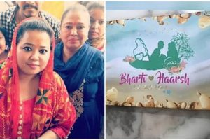 WATCH: Here's a look at Bharti Singh-Harsh's wedding card