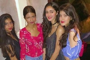 Chunky Pandey's daughter Ananya celebrates birthday with BFF Suhana in style