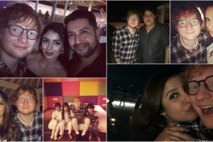 Ed Sheeran parties with B-town in Mumbai
