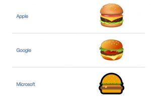 Google CEO Sundar Pichai joins 'cheese in burger emoji' debate, and it's hilarious