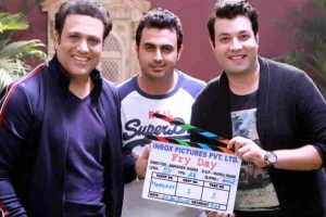 Govinda wraps up first schedule of 'Fry Day'