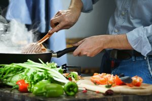 Weekend recipe – Spinach peas in rich tomato gravy