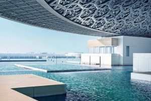 'Burst of sunlight' at Louvre Abu Dhabi Museum