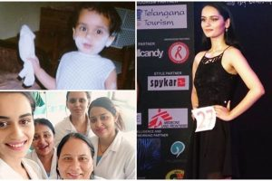 From childhood pics to first commercial shoot: Rare pics of Miss World Manushi Chhillar