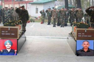 Kupwara encounter: Bodies of martyred soldiers flown to native places