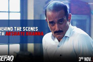 Behind the Scenes with Akshaye Khanna | Ittefaq