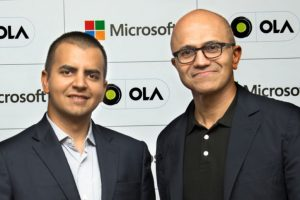 Ola and Microsoft to build new connected vehicle platform using Azure Cloud
