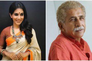 Sonali Kulkarni, Naseeruddin Shah bond over Marathi cinema