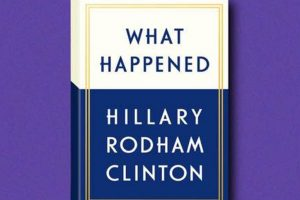 Why Hillary's book should not have happened