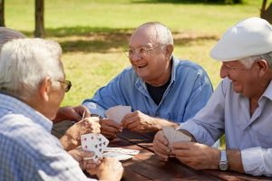 Good friends circle in old age may boost brain functioning