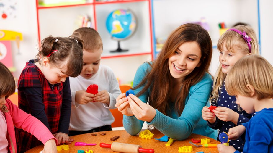 pre-school, young children, teaching, learning