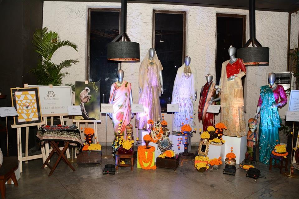 Royal Fables, royalty, winter theme, contemporary, art, textile