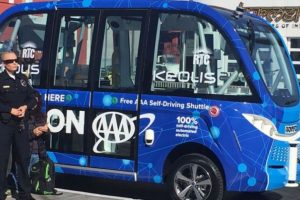 World's first self-driving shuttle crashes on first day in U.S.
