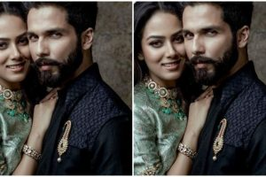 PIC: Shahid Kapoor, Mira Rajput's first cover photoshoot together