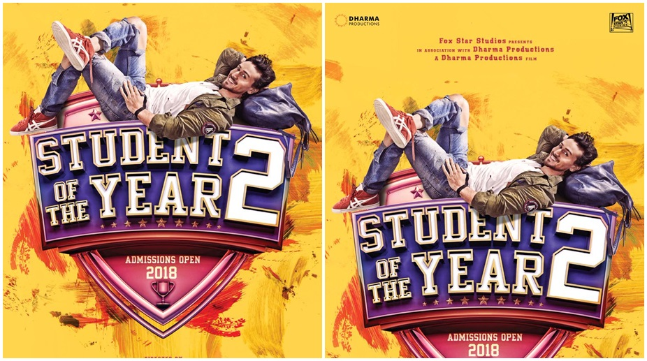 student of the year 2, tiger shroff
