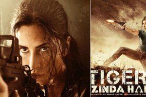 'Tiger Zinda Hai': Katrina Kaif treats fans to her top gun avatar