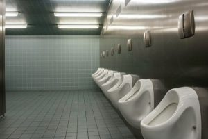 How to avoid germs in public washroom