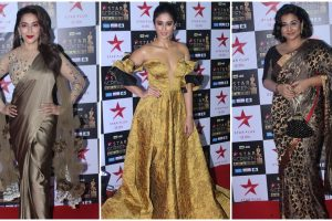 PICS: Bollywood glitters in gold at an award function