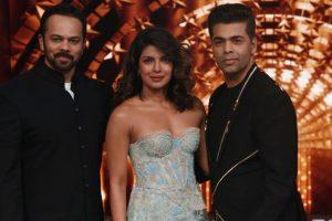 Priyanka, Rohit, KJo on the sets of India's Next Superstars