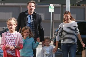 Jennifer Garner helping Ben Affleck adjust for kids