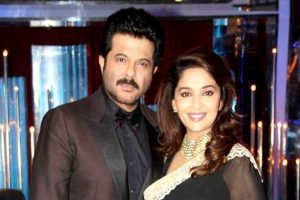 Madhuri excited to team up with Anil Kapoor after 17 years