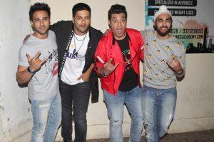 Yami Gautam, Sharman Joshi attend special screening of 'Fukrey Returns'