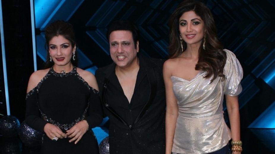 Raveena Tandon, Govinda, Shilpa Shetty
