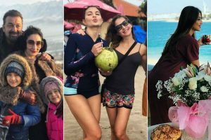 Want to know where the B-town celebs are celebrating New Year? see pics