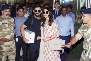 Spotted: Virat, Anushka at Chhatrapati Shivaji International Airport, Mumbai