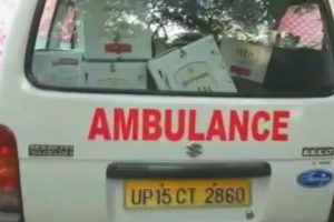 UP: Ambulance ferries liquor, belly dancers perform at doctors' bash