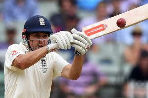 Alastair Cook bats on as England edge closer to innings lead