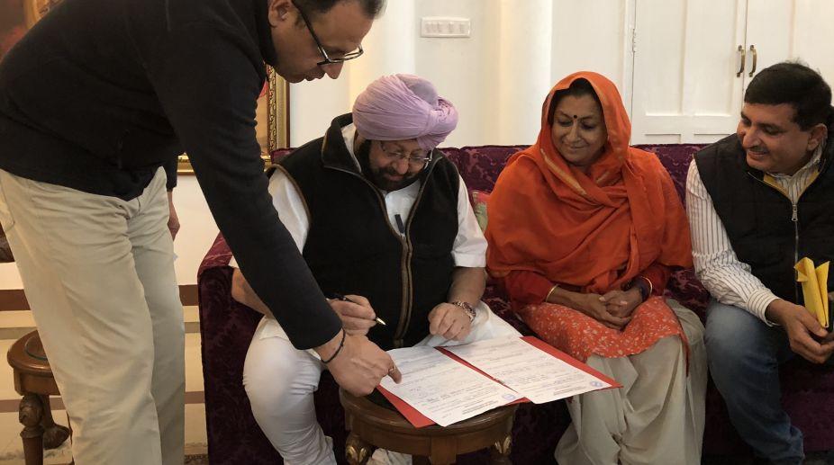 Amarinder Singh, Punjab CM, Cogress Chief, Rahul Gandhi