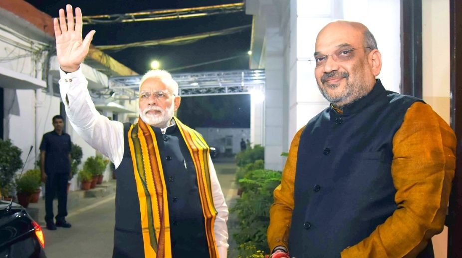 Prime Minister Narendra Modi and BJP chief Amit Shah