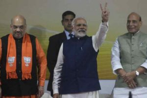 BJP's winning spree intact in Gujarat Assembly elections