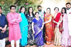 Raj Thackeray's son Amit engaged to Mumbai fashion designer