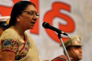 Anandiben Patel to be sworn-in as MP Governor on 23 January