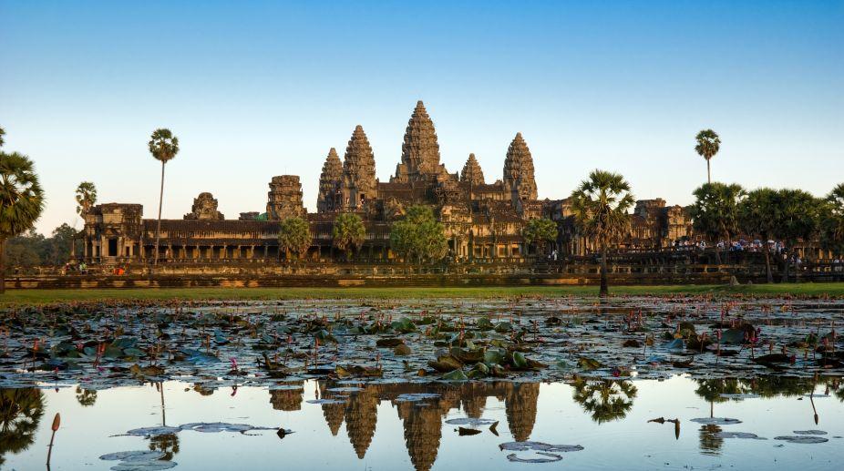 Angkor Wat, Cambodia, Britain
