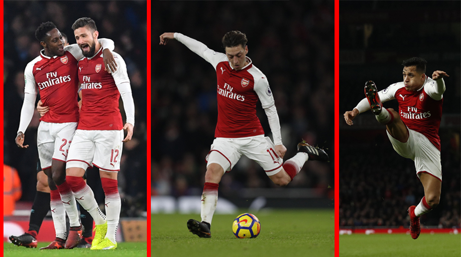 Arsenal F.C., Premier League, Arsenal Transfer News, Alexis Sanchez, Mesut Ozil, Olivier Giroud