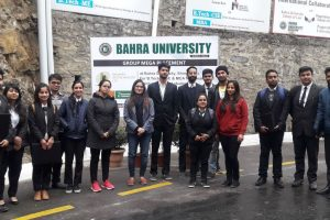 Job placement drive held in Himachal's Bahra University