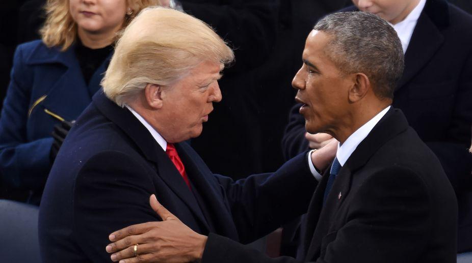 Barack Obama, Donald Trump, US
