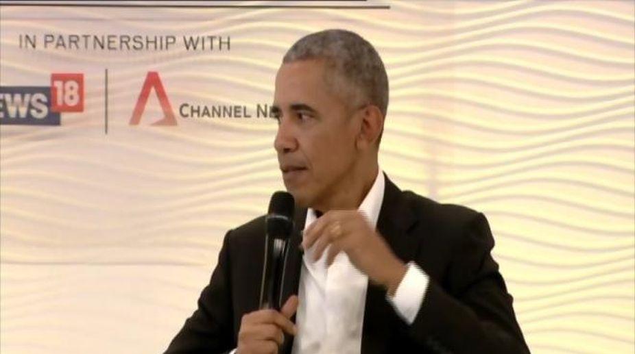 Barack Obama, HT Leadership Summit, India