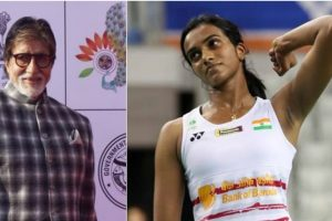 One loss will strengthen you more: Big B to P V Sindhu