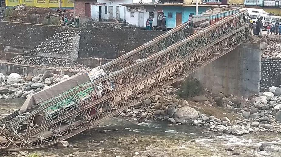Bridge, Collapse, India, China, Uttarkashi