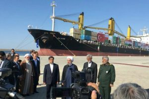 Iranian President inaugurates first-phase of Chabahar port